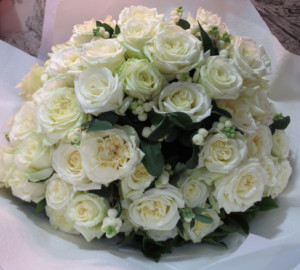 Scented Aimee Lou Rose Bouquet. $120