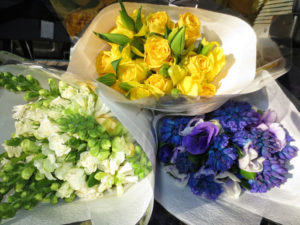 Posies pictured are $50.00