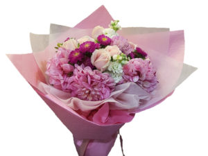 Delightfully Pink bouquet
